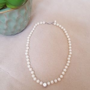 """Jewelry - Pearl necklace 15"""""""